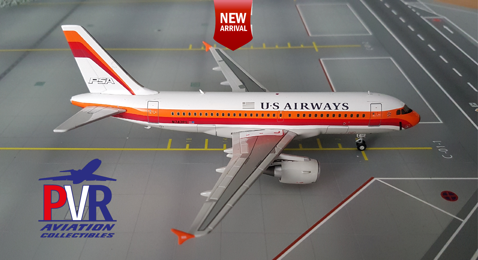 Gemini200 Airbus A320 US Airways €70